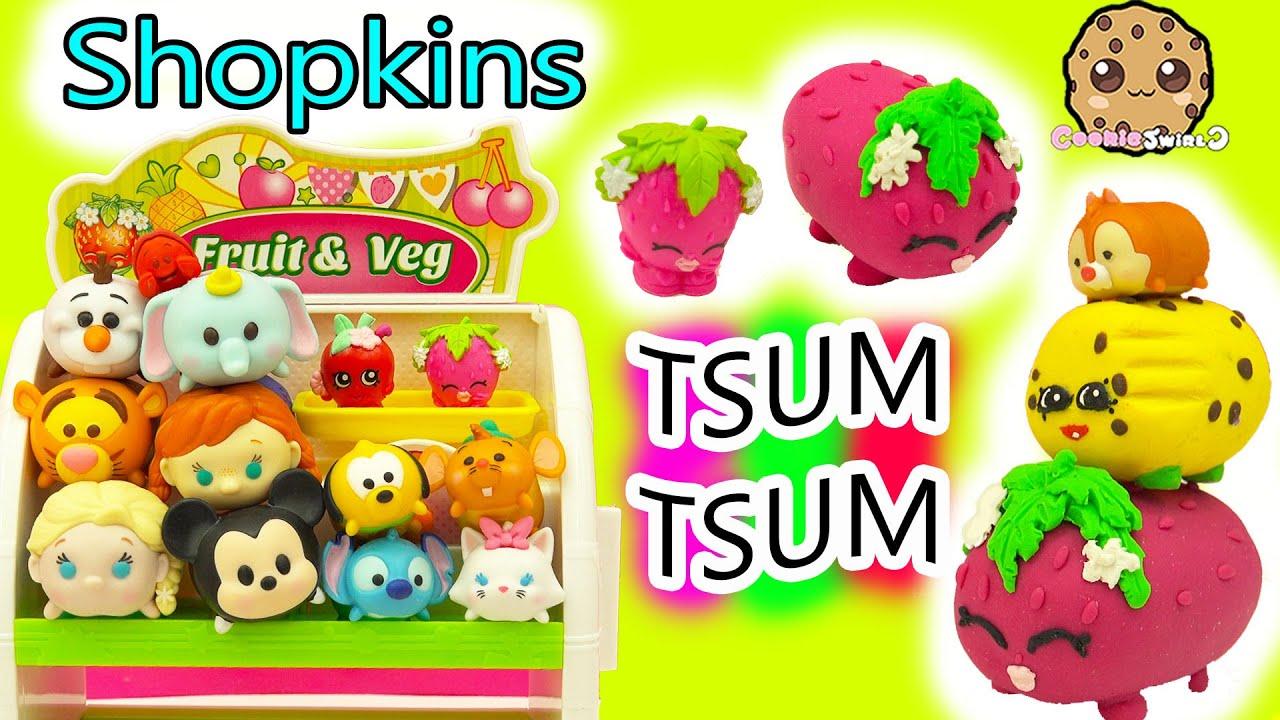 Diy handmade inspired shopkins strawberry kiss tsum tsum do it diy handmade inspired shopkins strawberry kiss tsum tsum do it yourself clay craft video solutioingenieria Images
