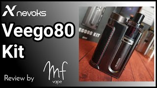 Veego80 Kit by Nevoks - Prototype review & rundown - SBS Pod Mod or Mod (510 adapter included)