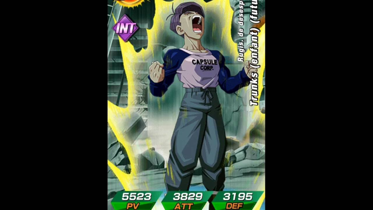 Dokkan Battle Comment Avoir Trunks Du Futur Ado Sr Youtube