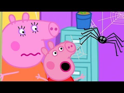 Download Peppa Wutz 🕸️ Spinnennetze in Peppas Haus 🕸️ Peppa Pig Deutsch Neue Folgen | Cartoons für Kinder Mp4 baru