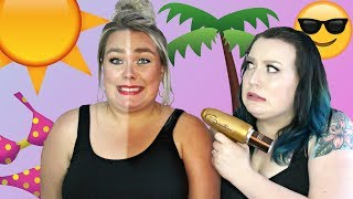 On teste du faux bronzage en spray 🌞🏖 | 2FILLESORDINAIRES