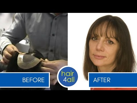 How to Apply (Attach) a Non-Surgical Hair Replacement System for Men/Women