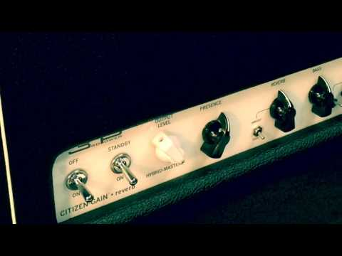 Citizen Gain SR Amplifier (shop beta test: Brown Sound w/ Spencer Ted Bassett)