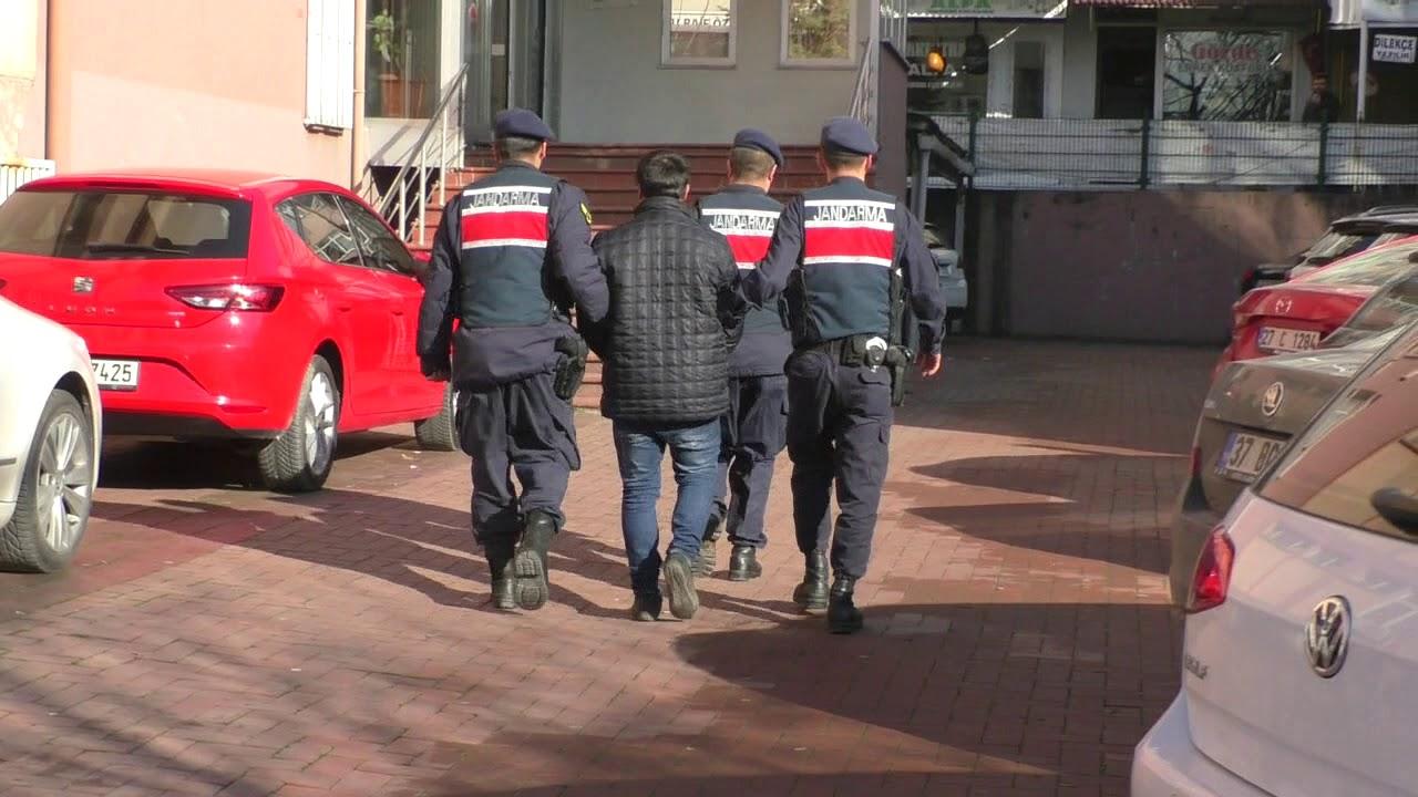 Bartın'ın Jandarması titiz çalışmalarıyla 4 kişi yakaladı