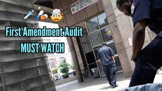 Coke Head 🤯 Crack Head NYC Correction Officer Caught On Camera First Amendment Audit ( MUST WATCH )