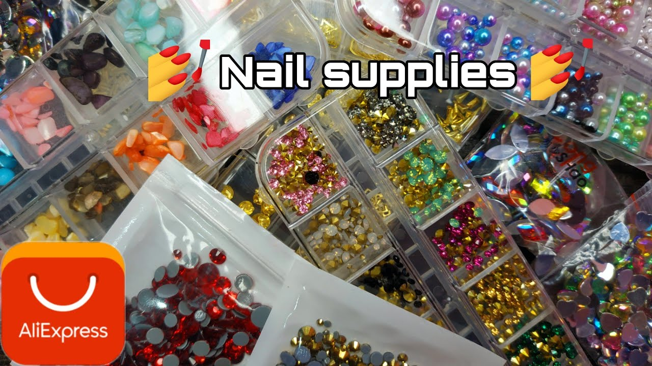Aliexpress haul   Nail supply haul for beginners   Part 6