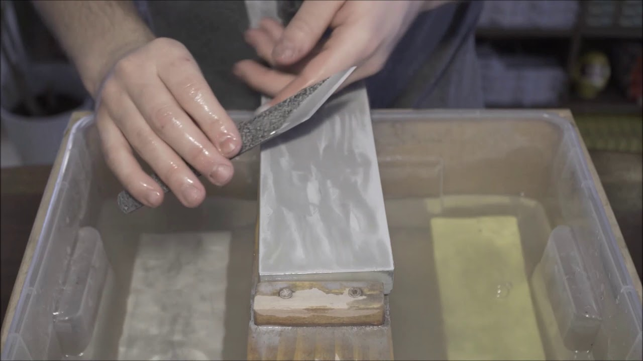 Kiridashi Knife Sharpening