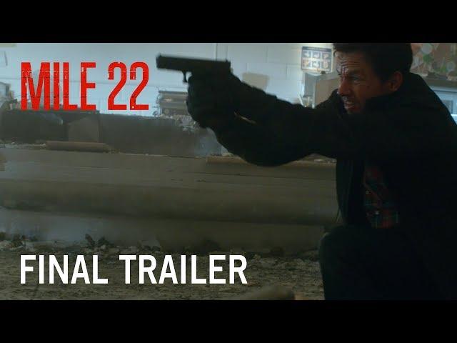 Mile 22 | Final Trailer | Own It Now on Digital HD, Blu-Ray & DVD