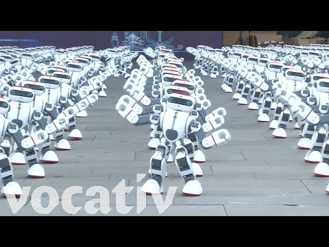 Massive Robot Dance Party Sets A Guinness World Record