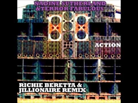 Terror Fabulous & Nadine Sutherland - Action (Richie Beretta & Jillionaire Remix)