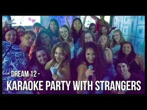 THROWING A KARAOKE PARTY FOR STRANGERS | DREAM 12 (BUDAPEST)