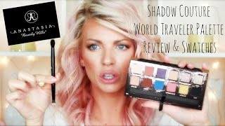 ♡ Anastasia Beverly Hills World Traveler Palette Review & Swatches ♡