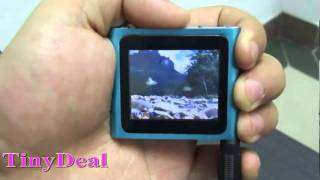 "4GB 1.65"" Touch Clip MP4 Player"