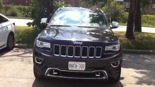 2015 Jeep Grand Cherokee Overland 4X4 Startup Engine & In Depth Tour