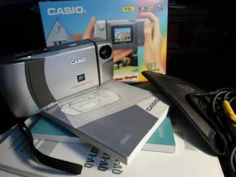 CASIO QV-100.wmv - YouTube