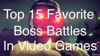 Top 15 Bosses in Video Games