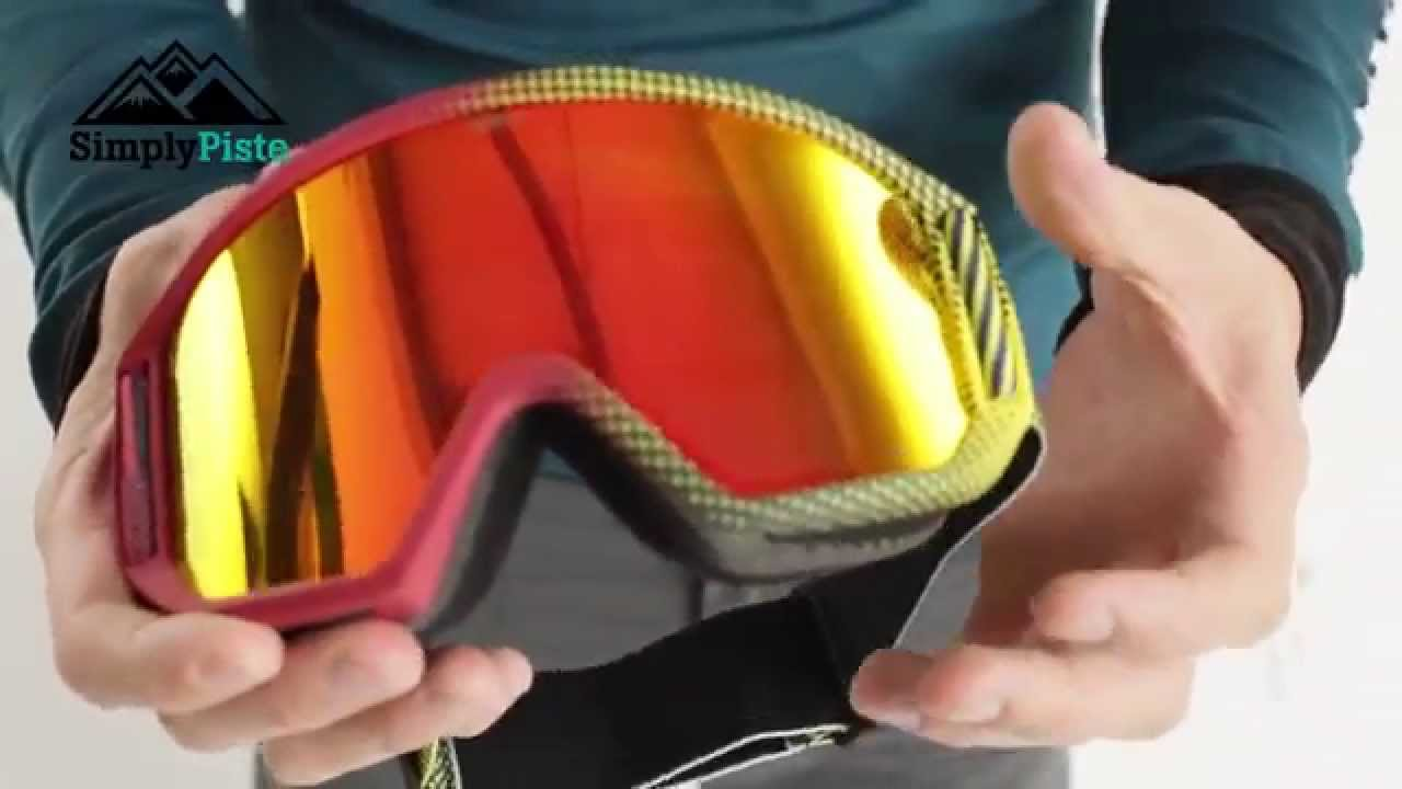 Anon Relapse Goggle Imbearassed With Red Solex Lens Www Simplypiste Com Youtube
