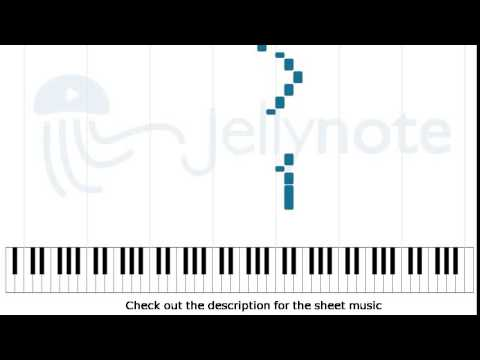 Little Black Submarines - The Black Keys [Piano Sheet Music] - YouTube