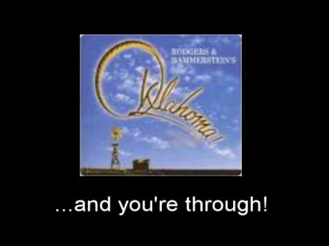 Oklahoma! - It's a Scandal! It's a Outrage! w/lyrics