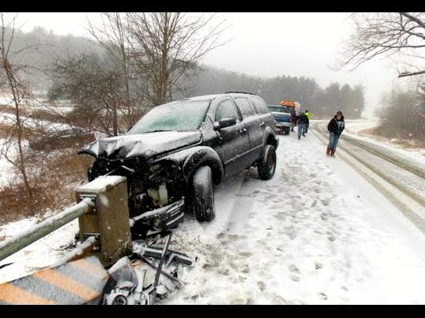 Stupid Snow and Ice CRASH Compilation 2017 - Brutal Snow Accidents Slide Part.6