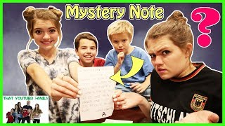 Strange Mystery Letter THE DOLLMAKER PART 1 / That YouTub3 Family