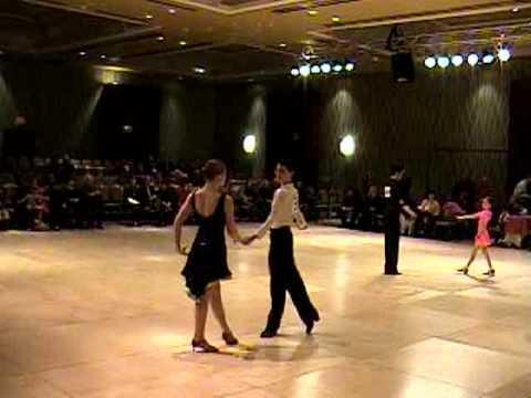 The Eastern United States DanceSport Championships 2010 Latin dance part 1 silver 1+2 Sam Kaplan