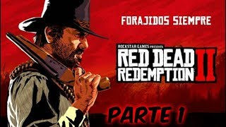 red dead redemption 2  PS4PRO parte 1