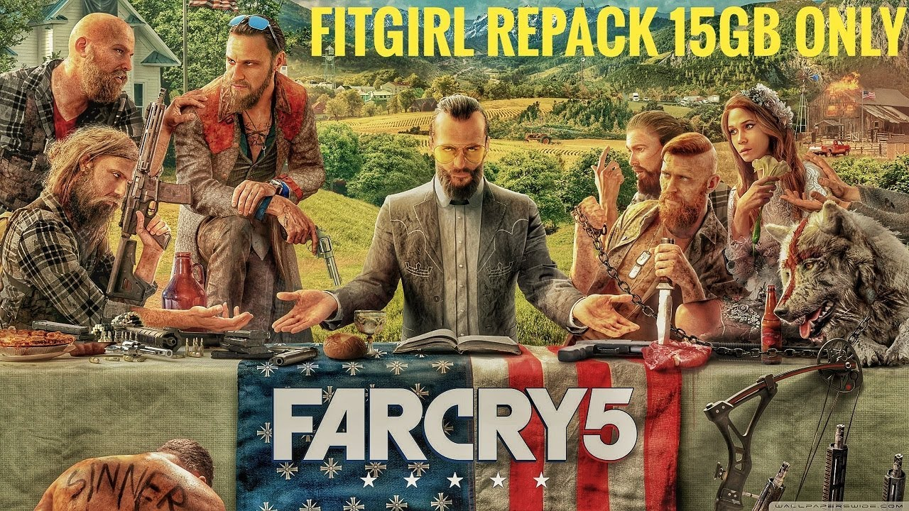 Far Cry 5 FitGirl Repack - Tested And Played