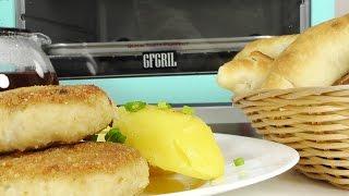 Обзор многофункциональной мини печи GFGRIL GFBB-9 Breakfast Bar. Приготовление обеда.