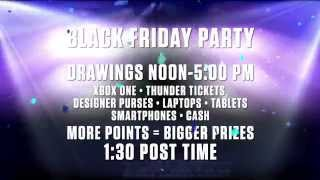 Black Friday Party at Remington Park