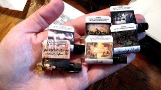 Perfume Oil Haul from Traveling Vardo - Dark Gothic Spooky Scents for Halloween - MagickalMayhem13