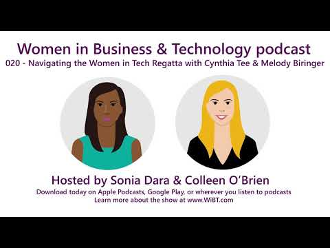 Episode 20 - Navigating the Women in Tech Regatta with Cynthia Tee and Melody Biringer