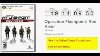 Operation Flashpoint Red River PC Countdown