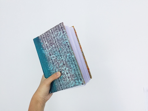DIY Art Journal Tutorial For Beginners - Step By Step Process