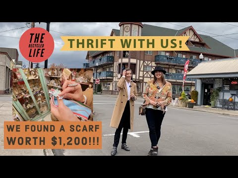 THRIFT WITH US! Antique Shopping In Oregon Small Town | The Recycled Life