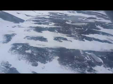 De Marambio a Base Esperanza en el Twin Otter