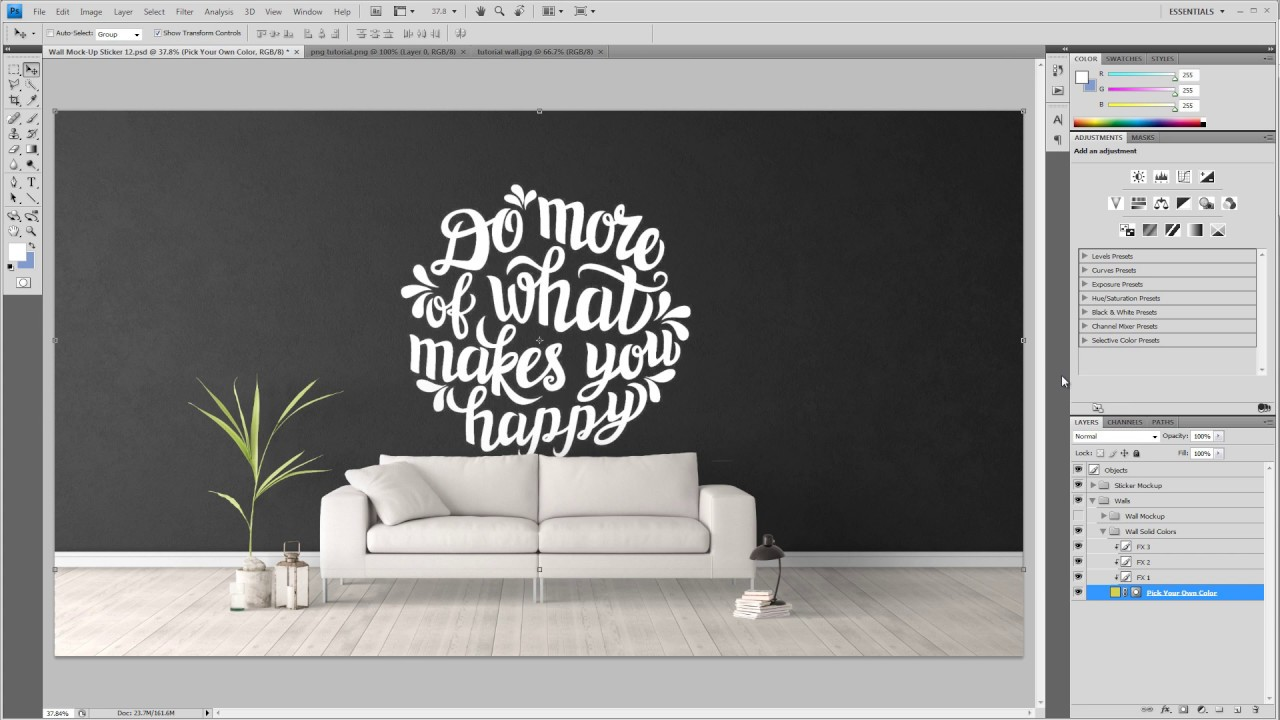 Wall mockups sticker mockups how to place your wall stickers wall mockups sticker mockups how to place your wall stickers amipublicfo Image collections
