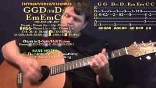 Eternal Love (Michael Learns to Rock) Guitar Lesson Chord Chart - Capo 3rd