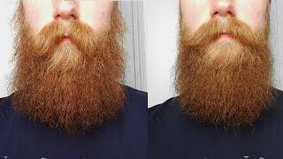 Bart in Form bringen mit Rundbürste und Fön | Männer Styling Tutorial