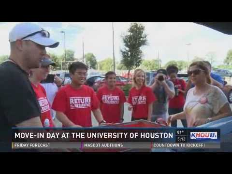 Move-in Day at the University of Houston