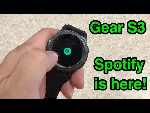 Gear S3 - Spotify is finally here! Mp3