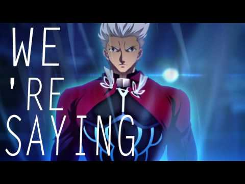 Fate/stay night:Unlimited Bladeworks -  Words