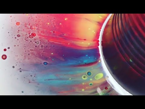 Fluid Painting Dirty Pour Cup POPPING!! Really neat technique Please Watch!!