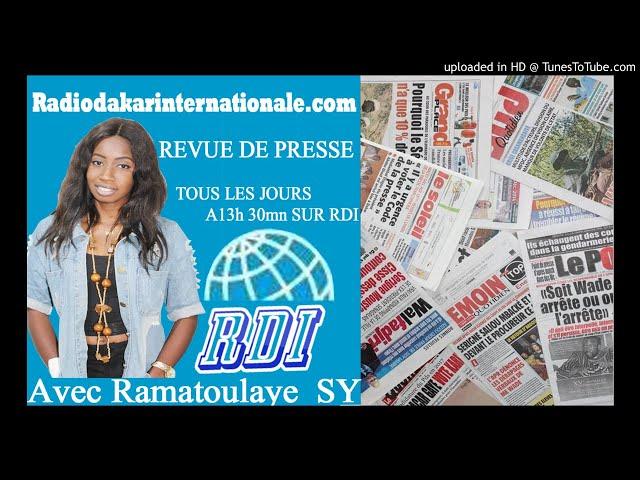 REVUE DE PRESSE FR DU 07 05 18