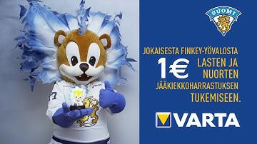 VARTA Consumer Finland | VARTA FINKEY YÖVALO – tukemassa lasten jääkiekkoharrastamista