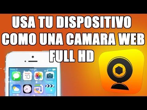 USA TU IPHONE,IPOD TOUCH O IPAD COMO CAMARA WEB EN TU PC