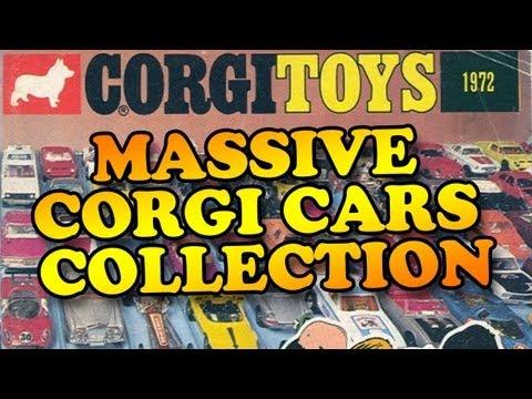 Massive Corgi Cars Collection