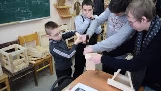 Волонтерское мероприятие инклюзивного профессионального обучения