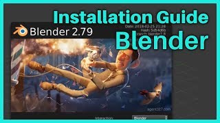 Unreal Tutorial - Game Development for Beginners - How to install Blender