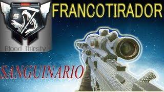 Conseguir Medallas Sanguinario Con Francotirador - Black Ops 2 (Bloodthirsty Medalls)